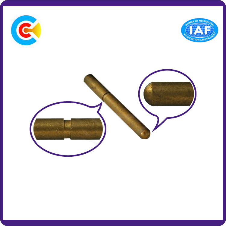 Iron Round Head Customized Shoulder Pin Dowel Pins