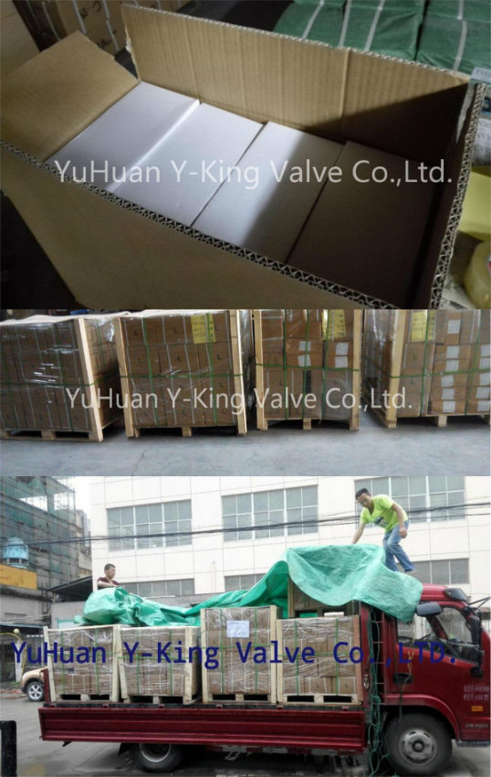 High Quality Thread Brass Foot Valve (YD-3004)