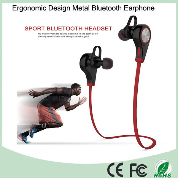 Mobile Accessories Metal Wireless Sport Bluetooth Stereo Headphone (BT-128Q)