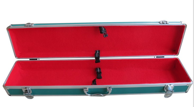 Huge Multi Level Aluminum Metal Tool Tackle Fishing Box Chest Case