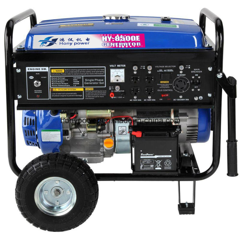 100% Copper Wire Prices with Wheel 4kw Gasoline Generator