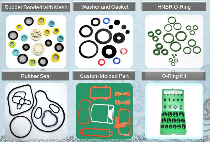 Rubber Products Bonded to Mesh