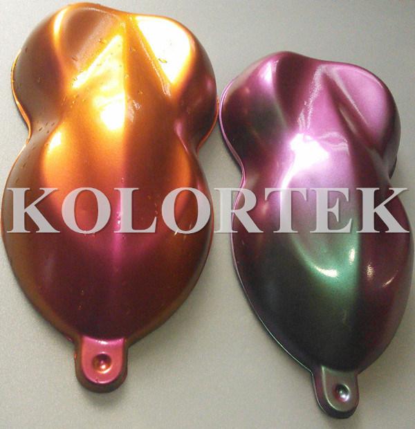 Pearlescent Effect Metallic Paint Colors Pigments