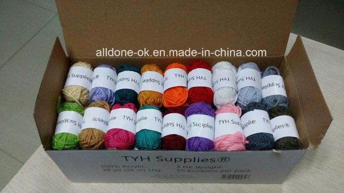 High Quality Hand Knitting Crocheting 100% Acrylic Yarn