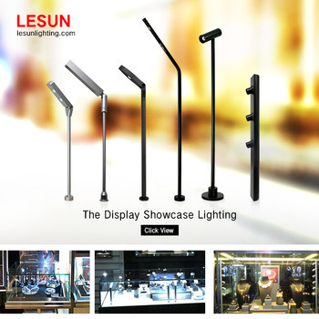 LED Watch Showcase Standing Spot and Down Light