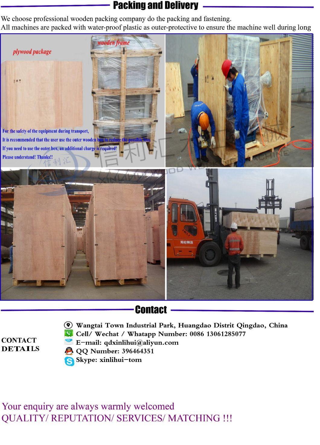 2018 Hot Sale Photo Frame Profile Manual Operating Edge Banding Machine/ Woodworking Tool