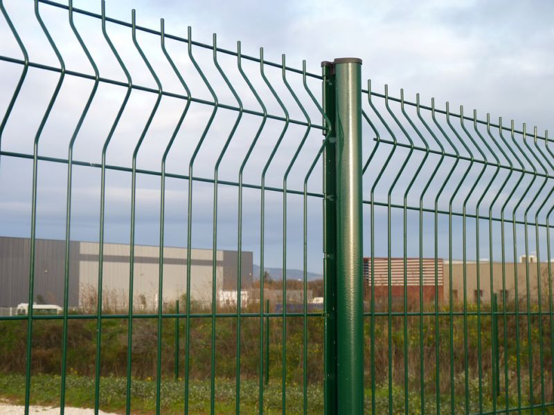 Hot DIP Galvanizing Security Steel Fence