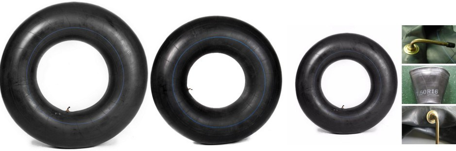 Butyl Rubber Tube for Agricultural Tyre, Forklift Tyre, OTR Tyre, Heavy Duty Truck Tyre Valve Tr75A Tr177A Tr218A Tr15 Tr218A