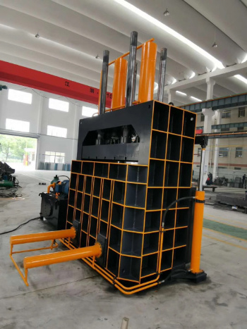 Y82-250 Vertical Aluminum Profile Cardboard Paper Baler