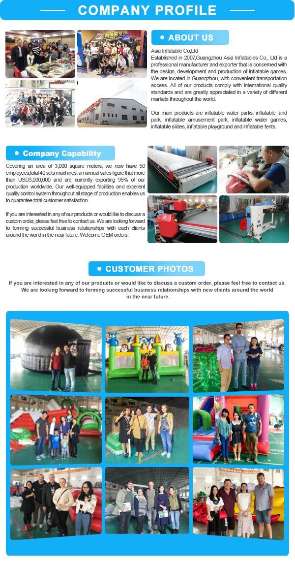 Inflatable Giant Playground Sports Inflatable Obstacle Games for Adult
