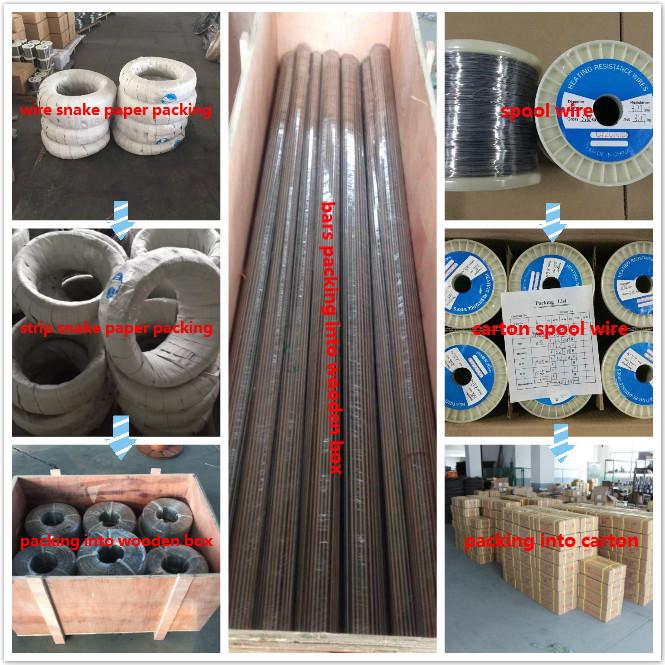 China Fe-Cr-Al-Heizelemente Widerstandskabel Hersteller