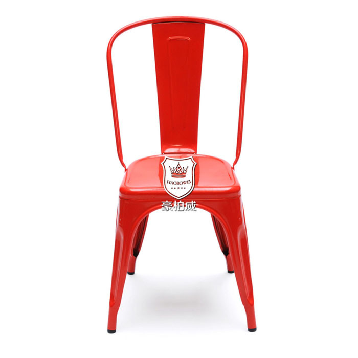 Colorful Marais Tolix Chair Painted Steel Chair Stackabel Cafe Chair in Cheap Price
