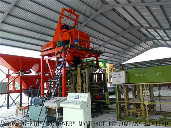 Paver Block Machine Price Qt10-15 Cement Interlock Block Making Machine
