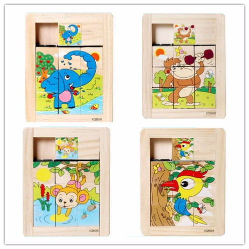 Pass Through Puzzle Wood Toy