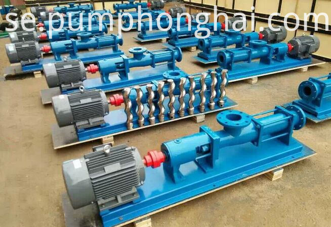 G slurry single screw pump