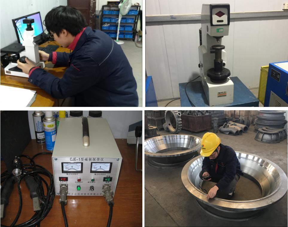 304 Material Tooth Gear Wheel with Machining in Casting Technology