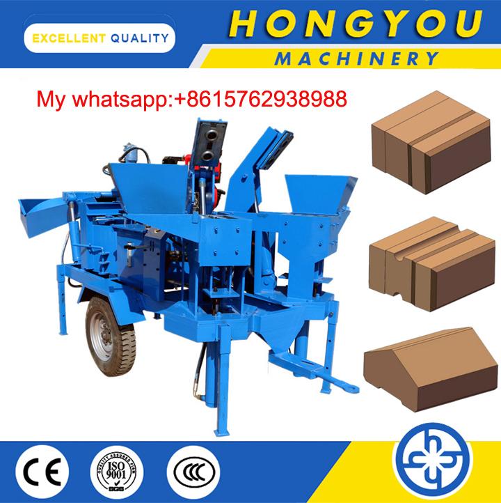 Hydraform M7mi Interlock Clay Brick Making Machine Clay Paver Machine