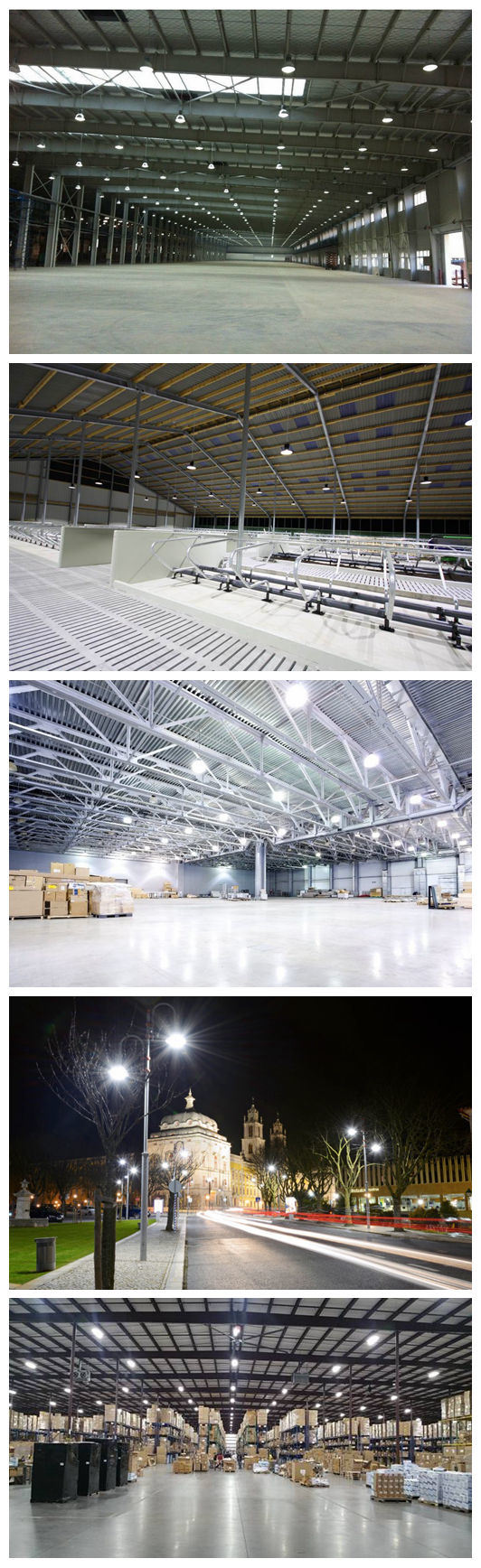 Project Lighting IP65 130lm/W MW Driver 200W UFO LED Highbay Light