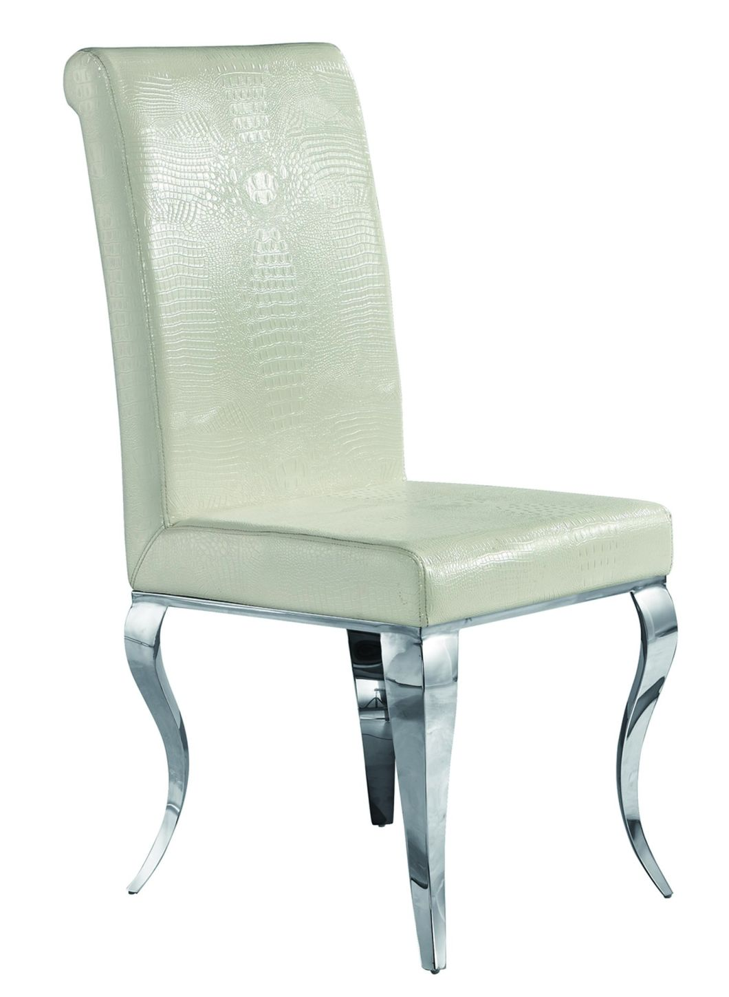 Luxury Dining Room Furniture Stainless Steel Dining Chair Wedding Chair Banquet Chair Hotel Chair