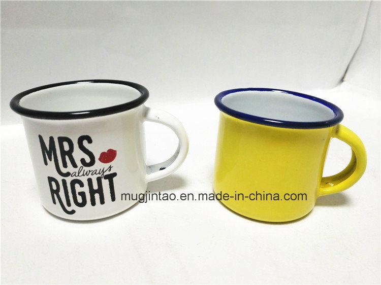 Enamel Mug Enamel Metal Cup OEM Logo