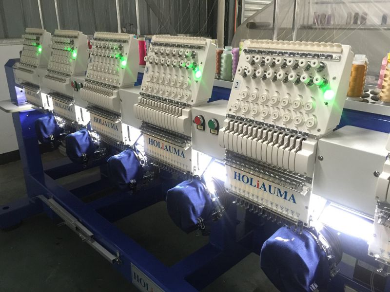 The Best High Speed 8 Heads Industrial Embroidery Machines for Sale
