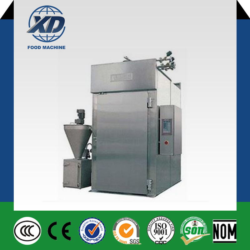Automatic Chicken Smoking Machine Machine for Smoking Meat