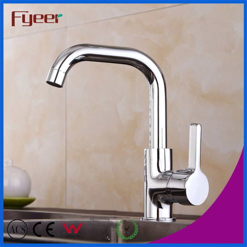 Fyeer Wholesale Cheap Brass Kitchen Sink Faucet