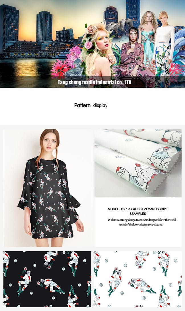 Polyester Twill Digital Printed Garment & Hometextile Fabric