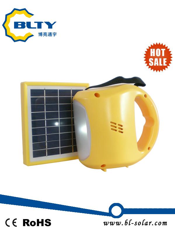Portable Solar Lantern with LEDs