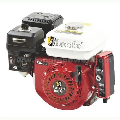 Honda 6.5HP Electric Gasoline Engine Key Start with Battery Gx200