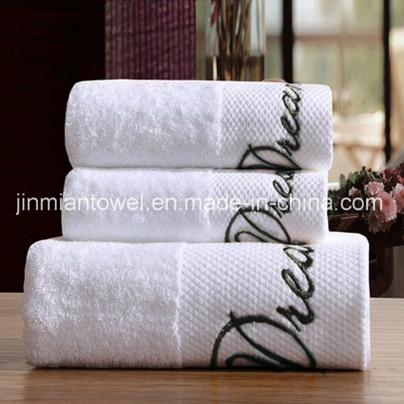 Promotion Cotton Bath Towel Hand Towel Embroidery Logo