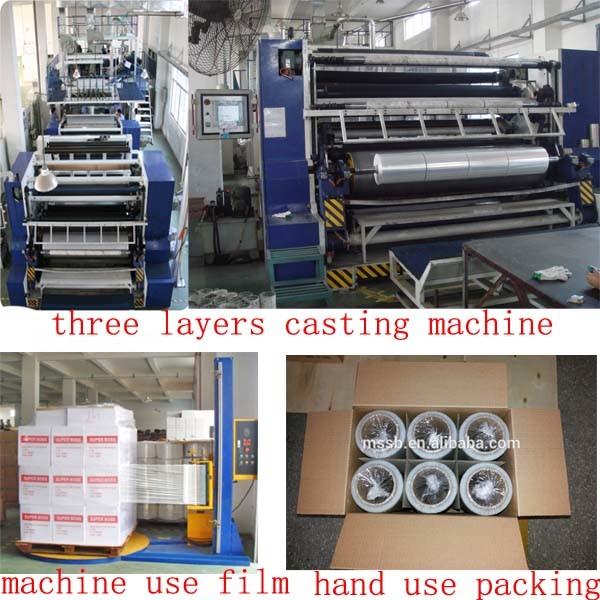 Customize Cast Hand and Machine Grade Pallet Stretch Film