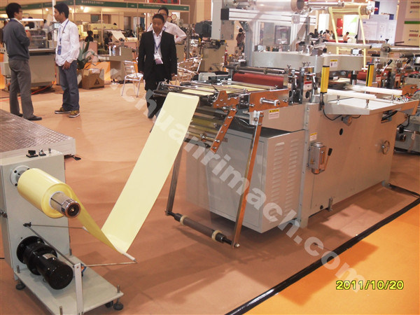 Mobile Adhesive Tape Film, Roll Adhesive Label Paper Automatic Die Cutting Machine