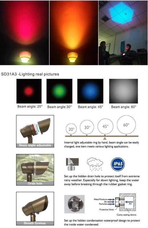 Garden Light/Accent Light/Landscape Lighting