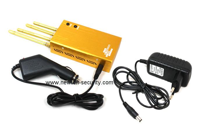 Golden GPS Jammer/WiFi Jammer/ Cellular Phone Jammer