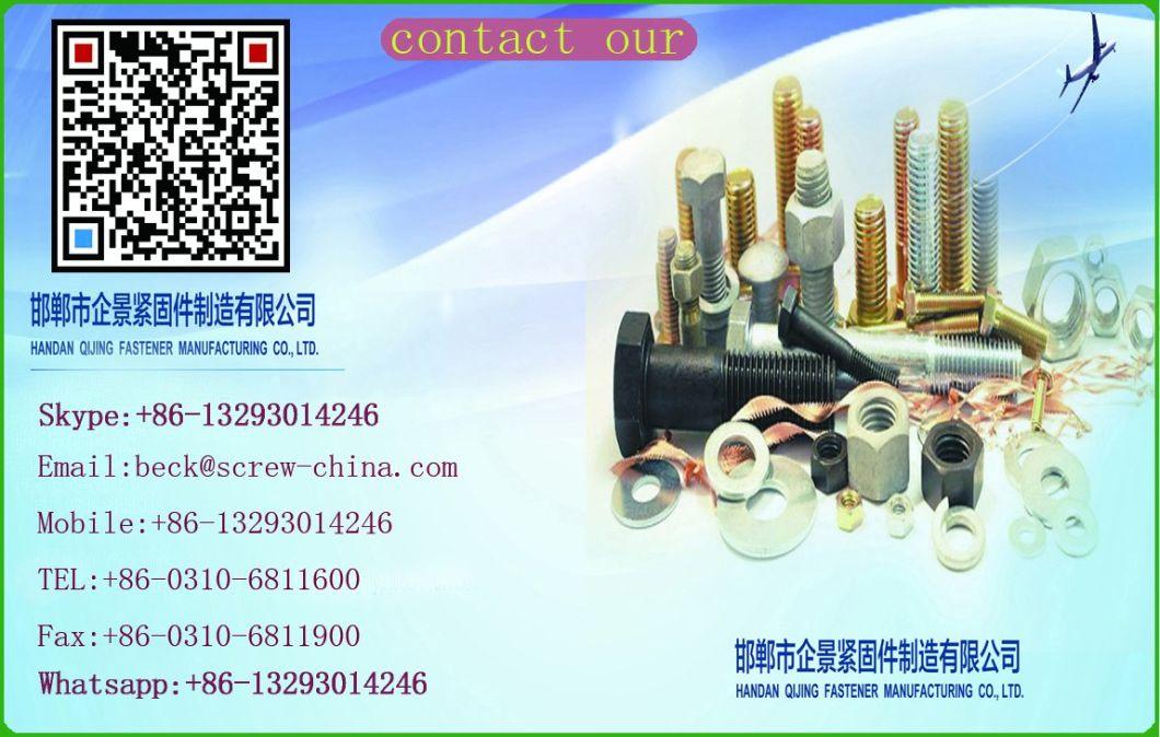 Galvanized Carbon Steel Hex Head Nut DIN934 M6-M36 in Hebei