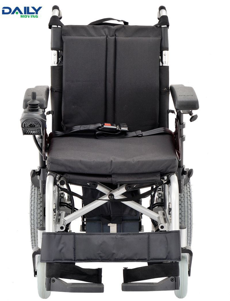 Lightweight Aluminum Frame Folding Wheelchair with Different Seat Sizes