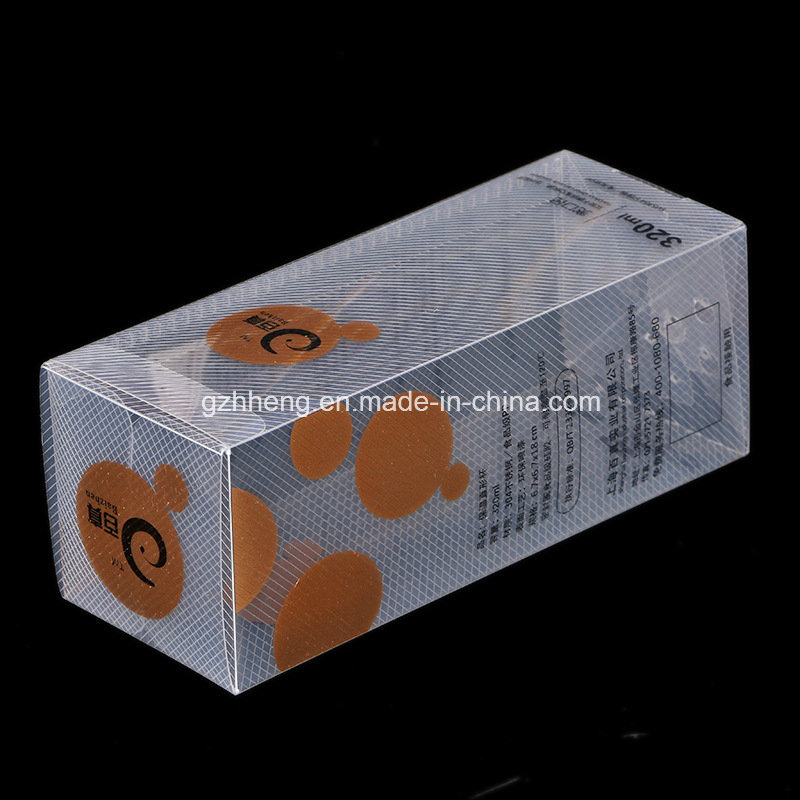 Factory Custom Printing Plastic Box for Water Bottle (PVC box)