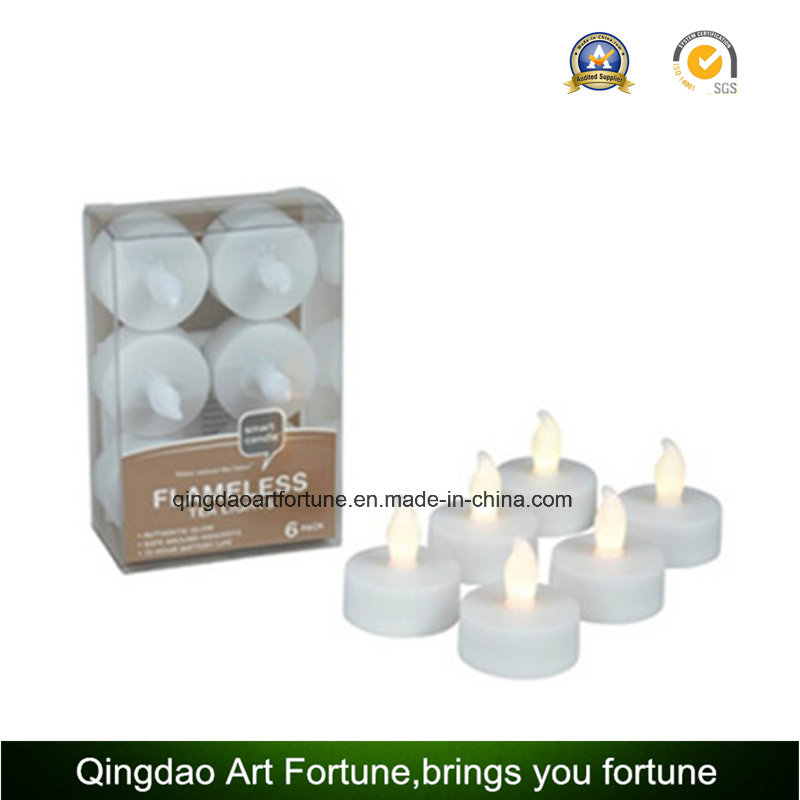 Smokeless LED Tealight Candles for Wedding/Party Warm White