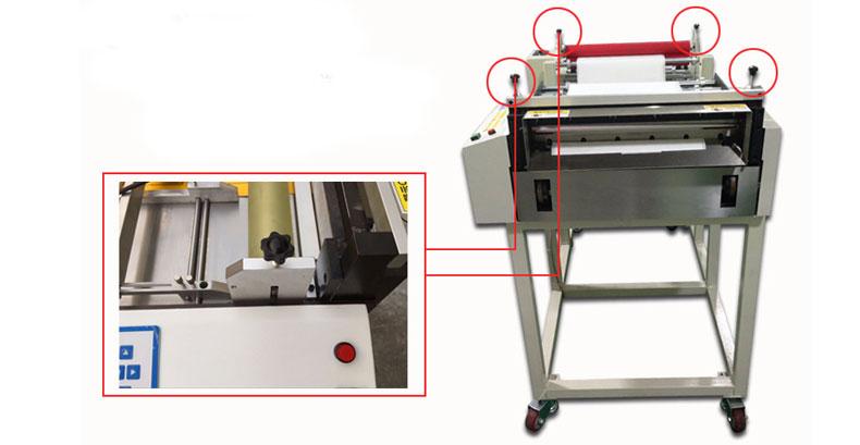 Automatic paper cutting machine
