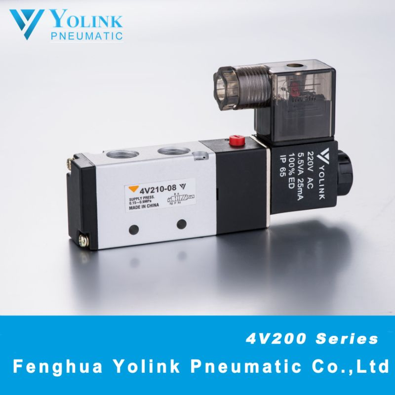 4V220 Series Pilot Operated Solenoid Valve
