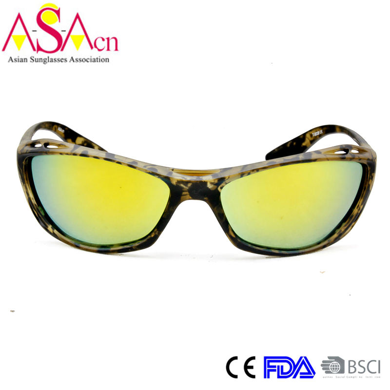 Designer Fashion Men Sport Polarized Tr90 Sunglasses (14351)