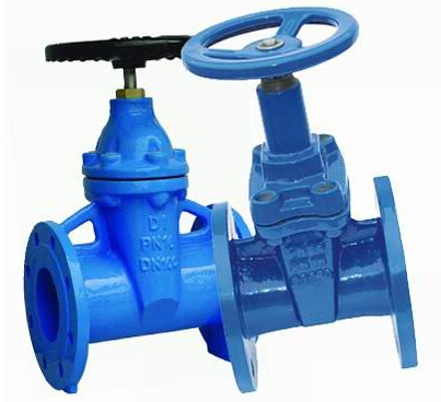 ANSI F4 Rubber Wedge Gate Valve