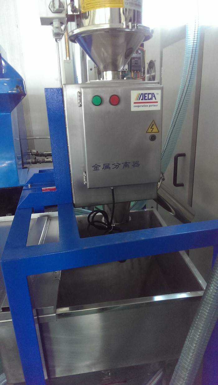 Automatic Metal Detector for Plastic Machine