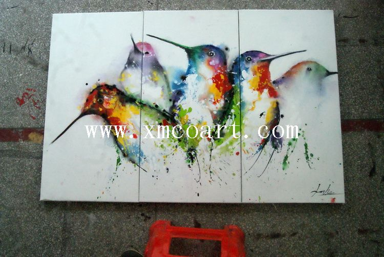 2015 Modern Animal Oil Painting (new-531)