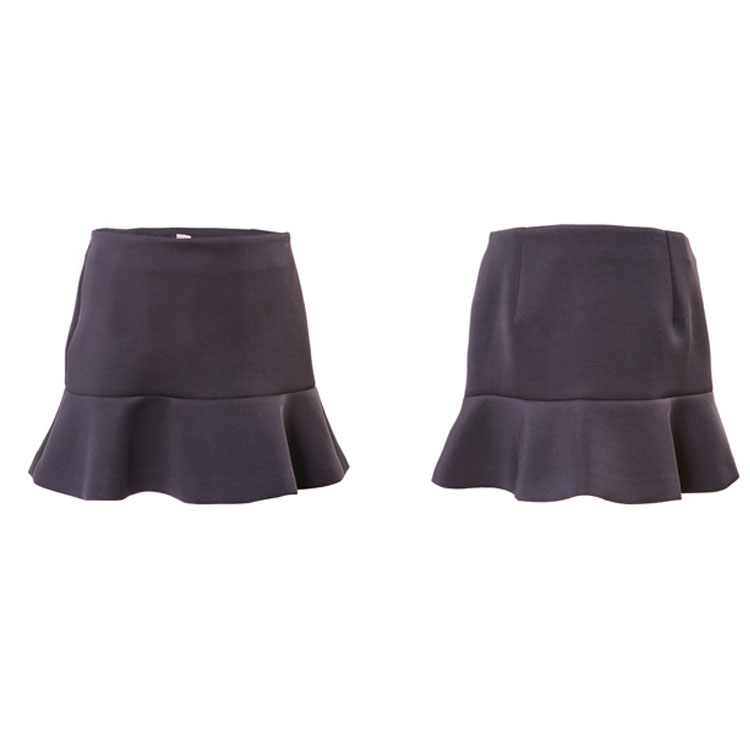 Summer New Style Women Ruffles Short Skirt
