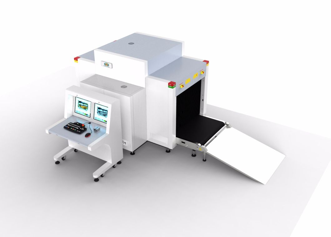 Dual View Baggage and Parcel Inspection X Ray Scanner for Security Inspection At100100d