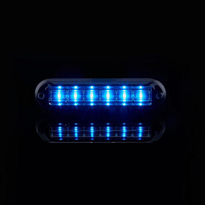 IP67 Waterproof Bright Strobe 6 PCS LED Grill Lightheads