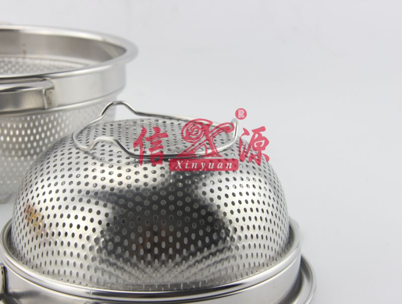 High Quality Stainless Steel Colander (FT-00402)