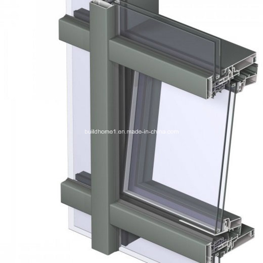 Energy Saving Thermal Break Tempered Glass Facades
